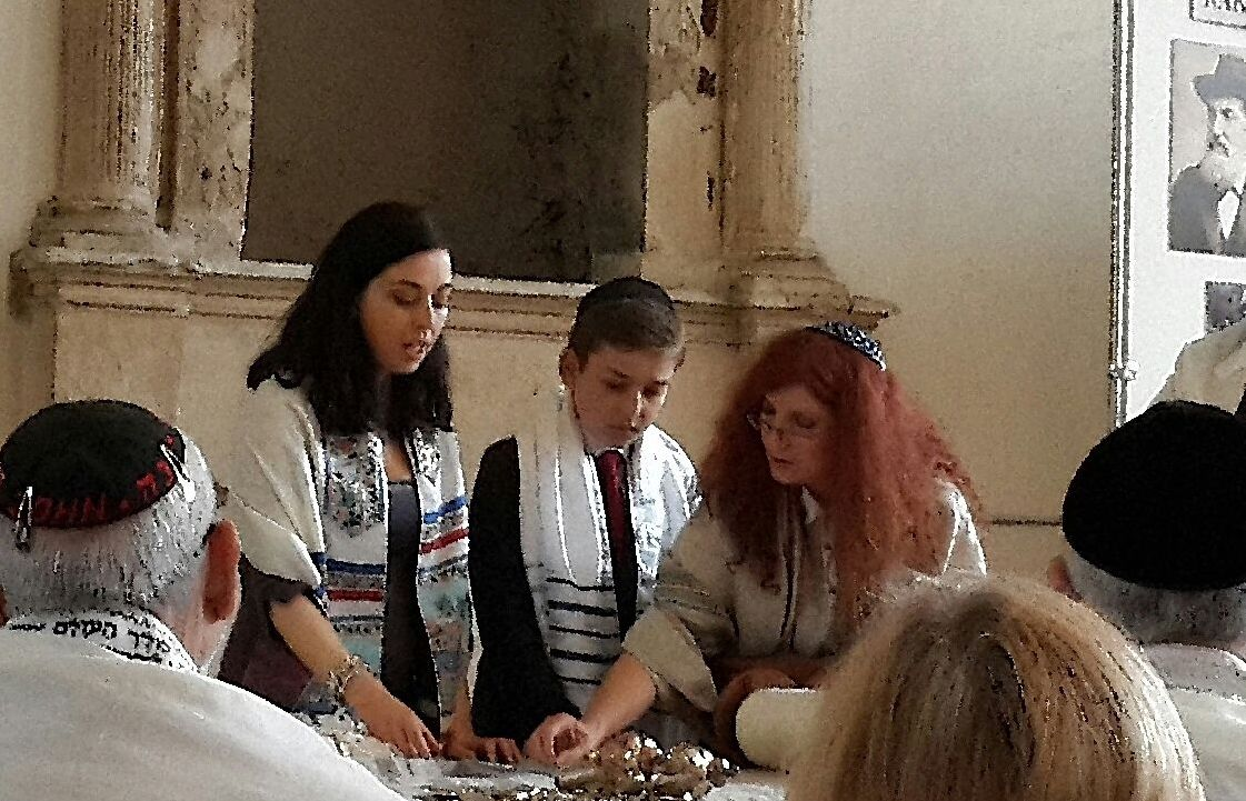 First Progressive Bar Mitzvah in Krakow after the war (2014)